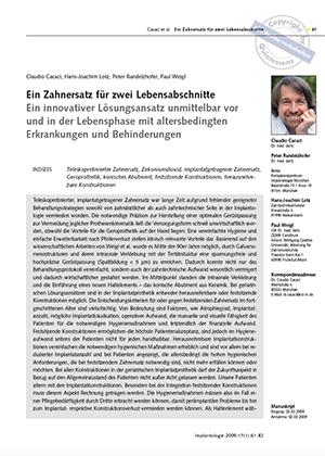 Dr. Claudio Cacaci, Dr. Peter Randelzhofer, Dr. Paul Weigl, Zahntechnik ZTM H.-J. Lotz (Weikersheim)