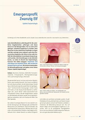 Dr. Peter Randelzhofer, Dr. Claudio Cacaci, Zahntechnik ZTM H.-J. Lotz (Weikersheim)