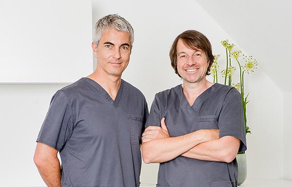 Sofortimplantate von den Experten Dr. Claudio Cacaci und Dr. Peter Randelzhofer