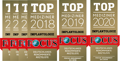 Focus Ärzteliste Top Mediziner Implantologie